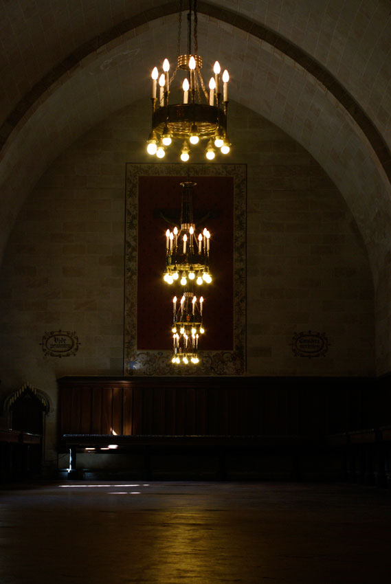 Inside Pedralbes Monastery