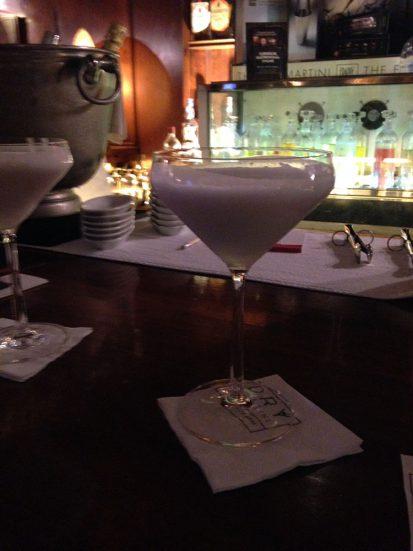 Coconut Martini cocktail