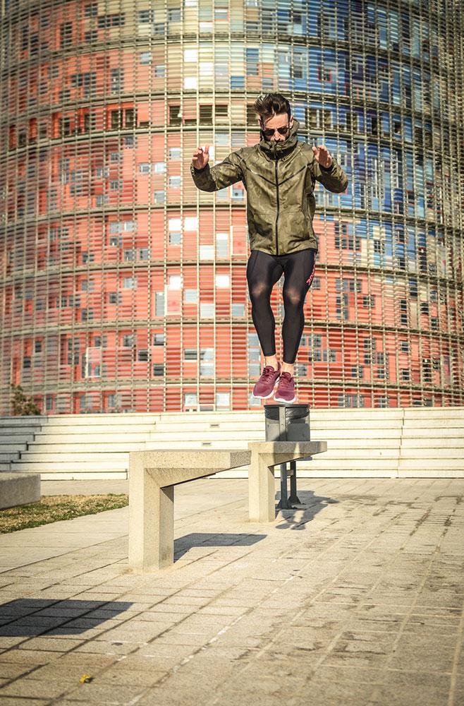 Martin at Torre Agbar