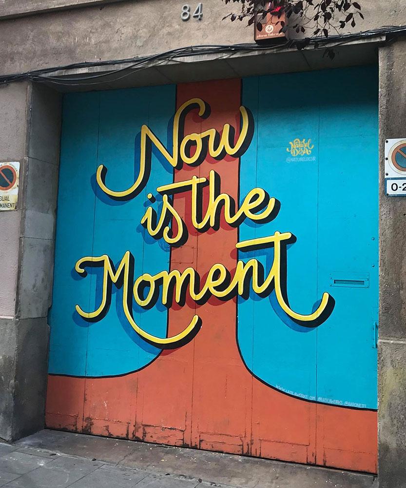Street art in Gràcia